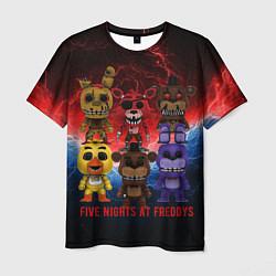 Футболка 3D мужская Five Nights At Freddys - фото 1