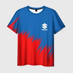 Футболка мужская SUZUKI цвета 3D — фото 1