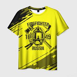 Футболка мужская FIREFIGHTER 1649 RUSSIA цвета 3D — фото 1