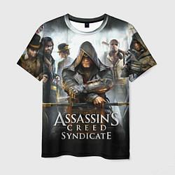 Футболка мужская Assassin's Creed цвета 3D — фото 1