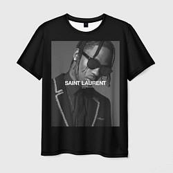 Мужская 3D-футболка с принтом Travis Scott SL, цвет: 3D, артикул: 10265153103301 — фото 1