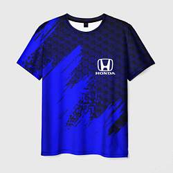 Мужская 3D-футболка с принтом HONDA, цвет: 3D, артикул: 10266119103301 — фото 1