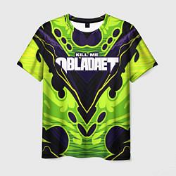 Мужская 3D-футболка с принтом KILL ME, OBLADAET, цвет: 3D, артикул: 10274462303301 — фото 1