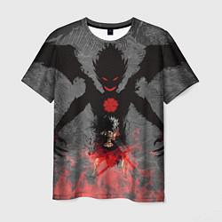Мужская футболка Черный клевер
