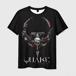 Футболка мужская Quake Champions цвета 3D-принт — фото 1
