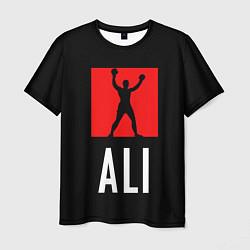 Футболка мужская Muhammad Ali цвета 3D-принт — фото 1