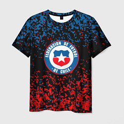 Футболка мужская Сборная Чили цвета 3D — фото 1