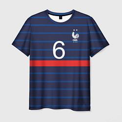 Футболка мужская Погба футболист Франция цвета 3D-принт — фото 1