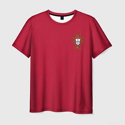 Футболка мужская Portugal home цвета 3D-принт — фото 1