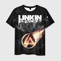 Футболка мужская Linkin Park: Comet цвета 3D — фото 1