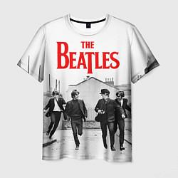 Футболка мужская The Beatles: Break цвета 3D-принт — фото 1