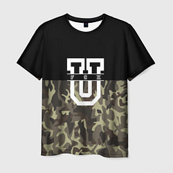 Мужская футболка FCK U: Camo