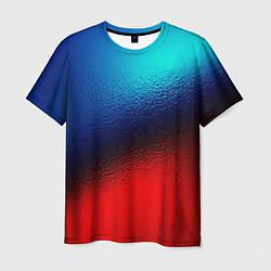 Мужская футболка Синий и красный