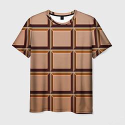 Мужская футболка Шоколад