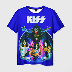 Футболка мужская Kiss Show цвета 3D-принт — фото 1