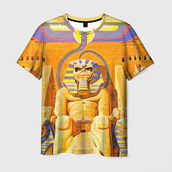 Футболка мужская Iron Maiden: Pharaon цвета 3D-принт — фото 1