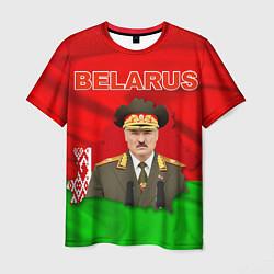 Футболка мужская Belarus: Lukashenko цвета 3D-принт — фото 1