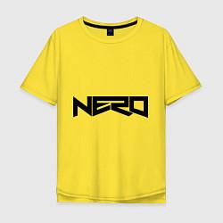 Футболка оверсайз мужская Nero цвета желтый — фото 1
