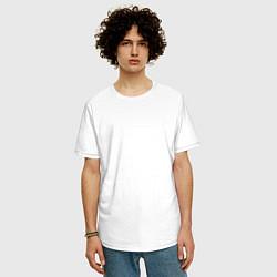 Футболка оверсайз мужская Northlane: Mesmer цвета белый — фото 2
