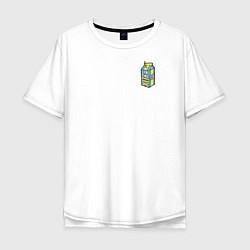 Футболка оверсайз мужская Lyrical Lemonade цвета белый — фото 1