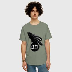 Футболка длинная мужская DM Raven - фото 2