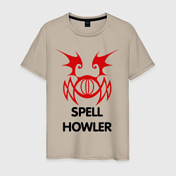 Мужская футболка Dark Elf Mage - Spell Howler