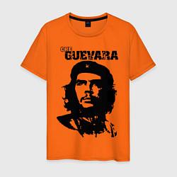 Футболка хлопковая мужская Che Guevara цвета оранжевый — фото 1