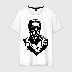 Мужская футболка Железный Арни
