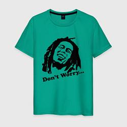 Мужская футболка Bob Marley: Don't worry