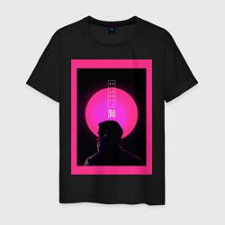 Футболка хлопковая мужская Blade Runner 2049 цвета черный — фото 1