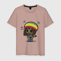 Мужская футболка Маленький Боб Марли