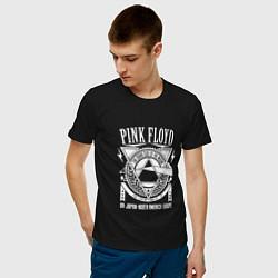 Футболка хлопковая мужская Pink Floyd цвета черный — фото 2