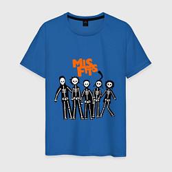 Мужская футболка Misfits Skeletons