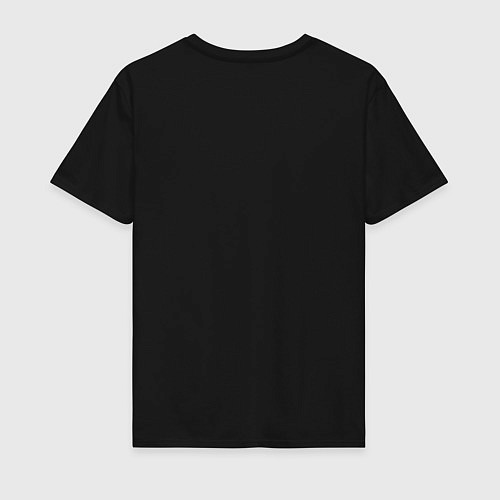 Мужская футболка Взлет единорога / Черный – фото 2