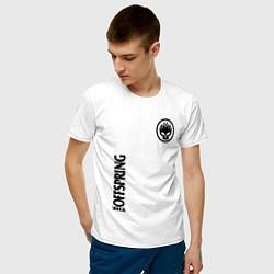 Футболка хлопковая мужская The Offspring цвета белый — фото 2