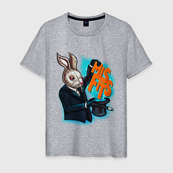 Мужская футболка Rabbit magician