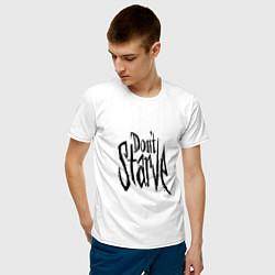 Футболка хлопковая мужская Don't Starve цвета белый — фото 2