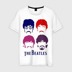 Мужская футболка The Beatles faces
