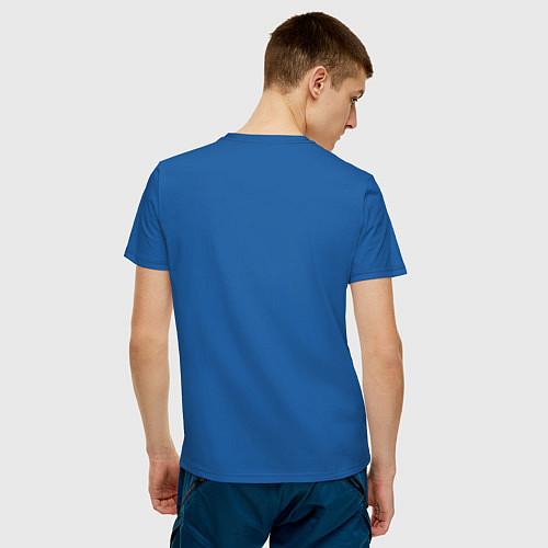 Мужская футболка Соник / Синий – фото 4
