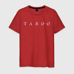 Футболка хлопковая мужская Taboo цвета красный — фото 1