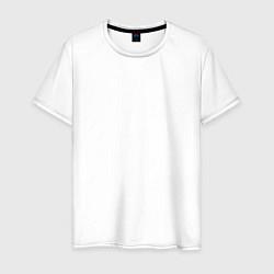 Мужская хлопковая футболка с принтом HONDA, цвет: белый, артикул: 10173933900001 — фото 1