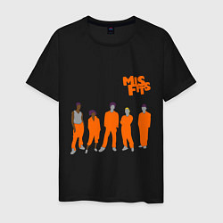 Мужская футболка Misfits Orange