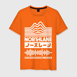 Футболка хлопковая мужская Northlane Music цвета оранжевый — фото 1