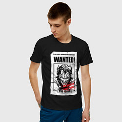 Футболка хлопковая мужская Wanted Joker цвета черный — фото 2