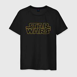 Футболка хлопковая мужская Star Wars цвета черный — фото 1