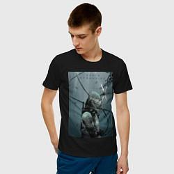 Футболка хлопковая мужская Death Stranding цвета черный — фото 2