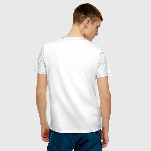Мужская футболка ЭТО СТАРАЯ ФУТБОЛКА / Белый – фото 4