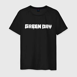 Футболка хлопковая мужская GreenDay цвета черный — фото 1