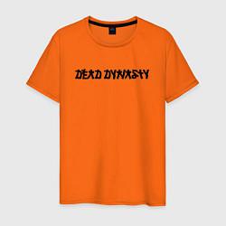 Футболка хлопковая мужская Pharaoh Dead Dynasty цвета оранжевый — фото 1
