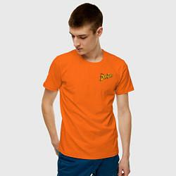 Футболка хлопковая мужская Scrooge McDuck цвета оранжевый — фото 2
